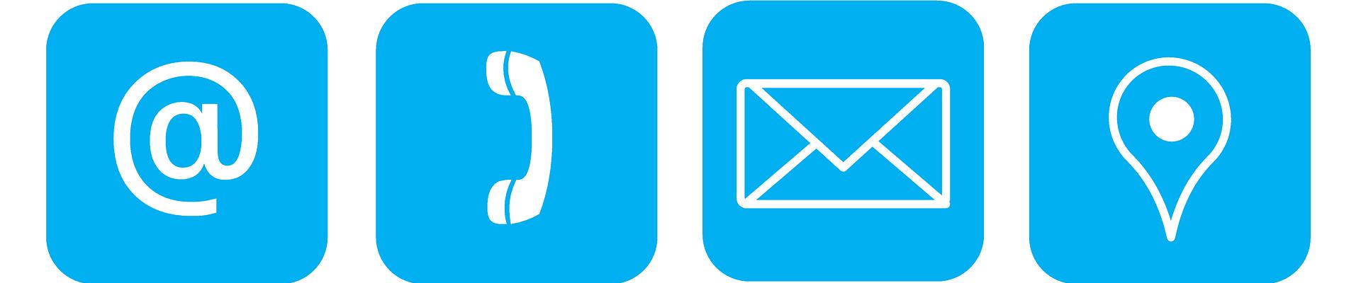Mail, Telefon, Anschrift, Map