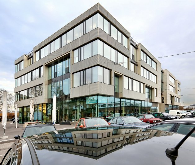 Büro-Passivhaus im Kreativpark Karlsruhe